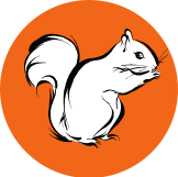 Squirrels Bavarian Nuts Logo