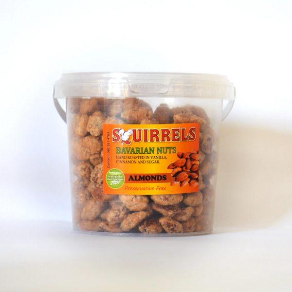 Squirrels Bavarian Nuts - almonds