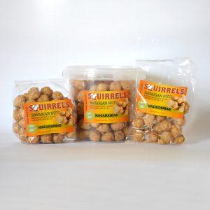 Squirrels Bavarian Nuts - macadamias