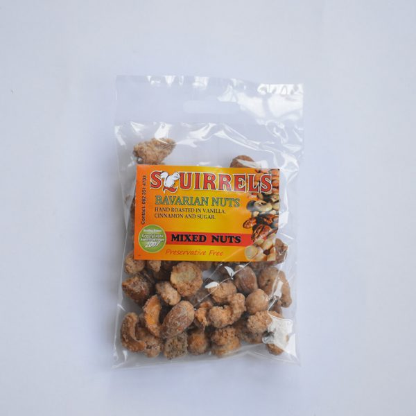 Squirrels Bavarian Nuts - mixed nuts