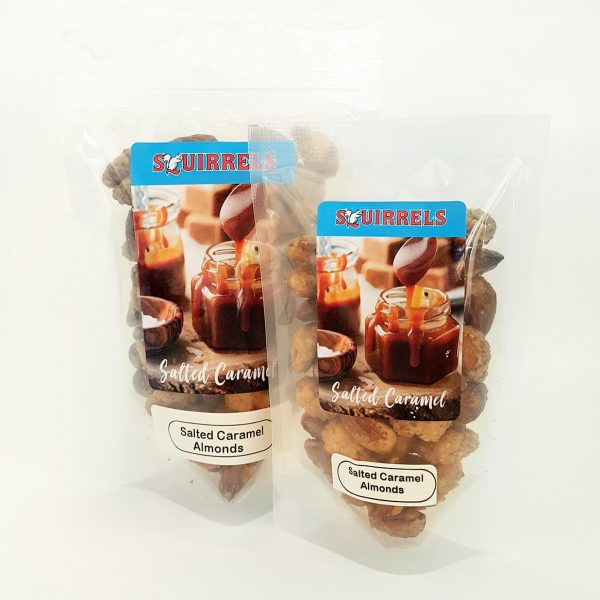Squirrels Bavarian Nuts - salted caramel almonds