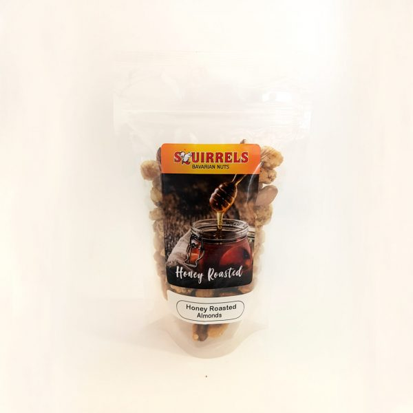 Squirrels Bavarian Nuts - honey roasted almonds