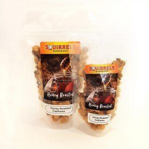 Squirrels Bavarian Nuts - honey roasted cashews