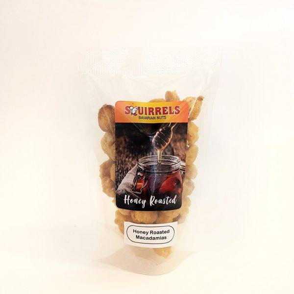 Squirrels Bavarian Nuts - honey roasted macadamias