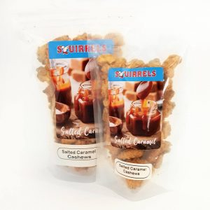 Squirrels Bavarian Nuts - salted caramel cashews